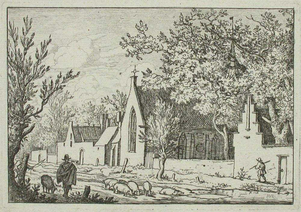 Sikoja kylätiellä