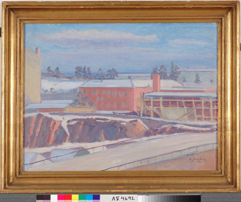 Talvinen kaupunkikuva