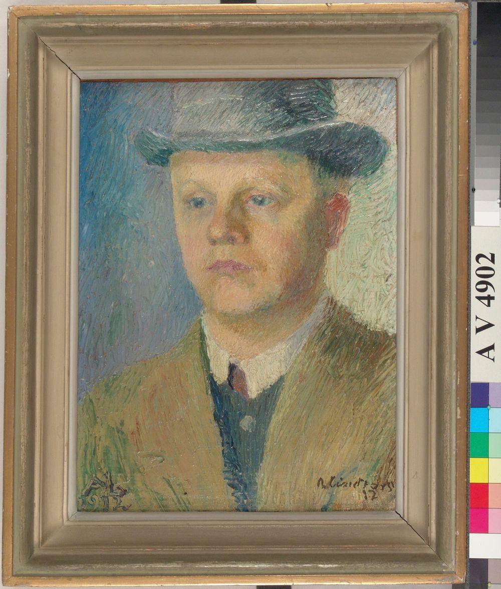 Miehen muotokuva (Martti Lindforss, taiteilijan veli)