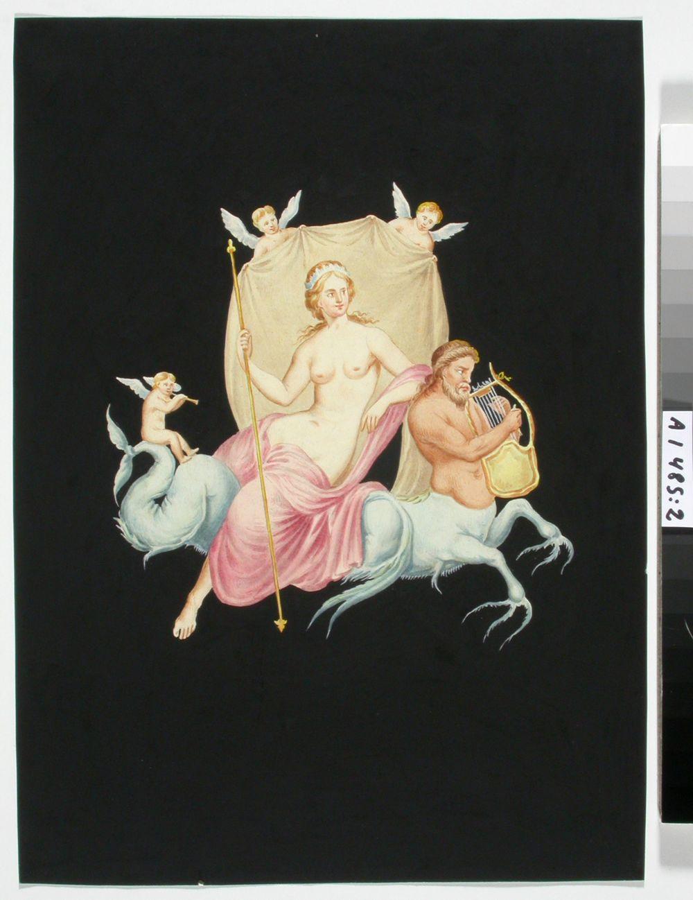 Kopio Pompejin maalauksista