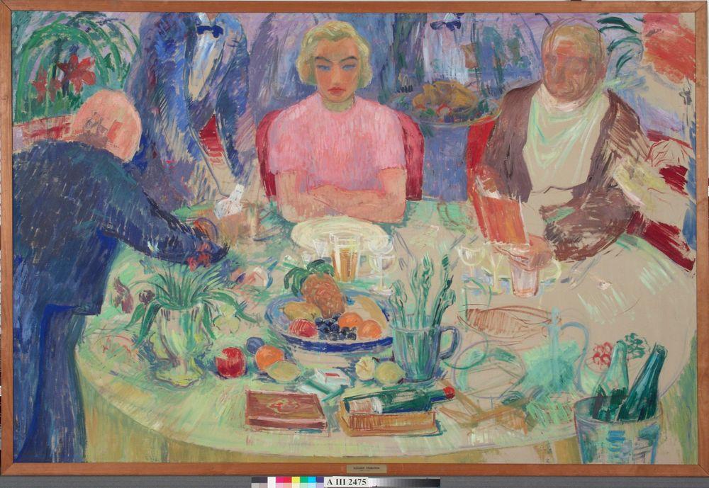 Aamiaispöytä ; keskeneräinen