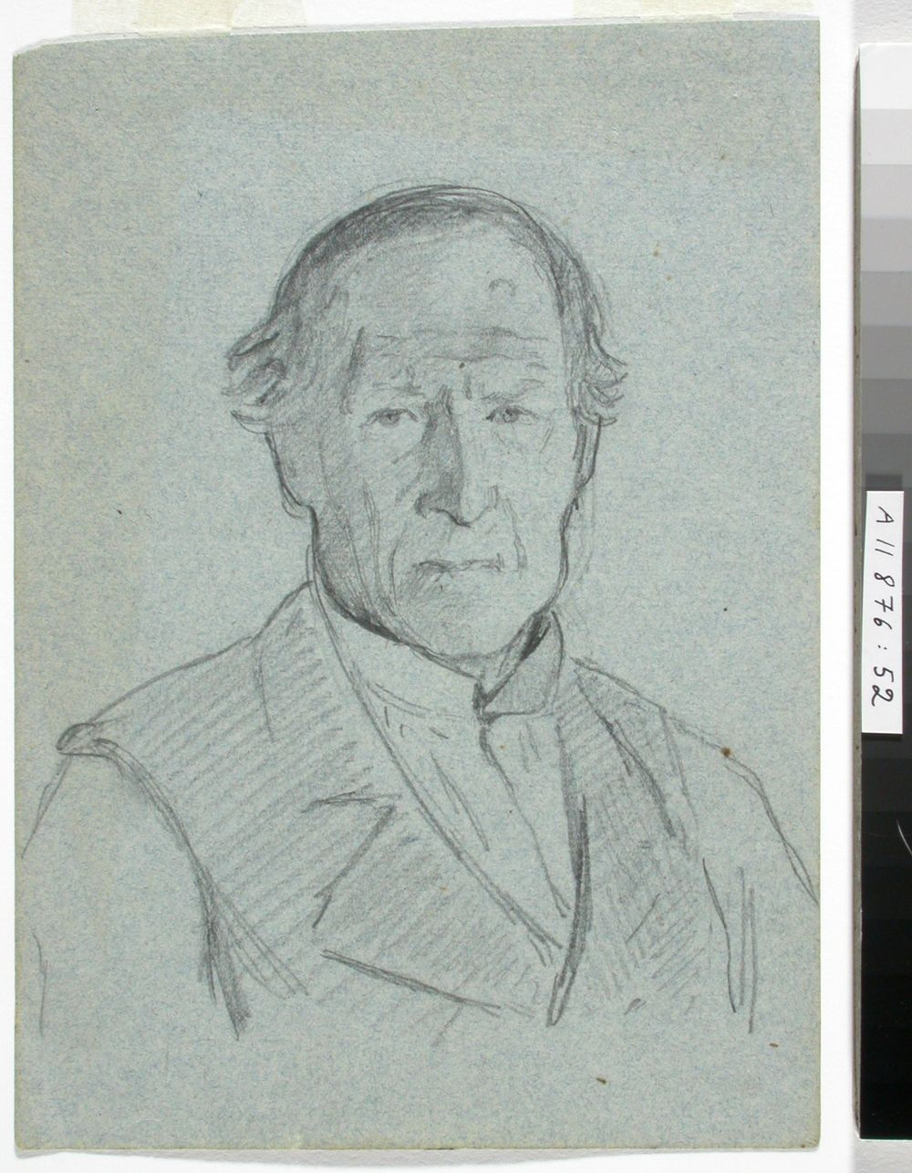 Portrait Study of an Elderly Man
