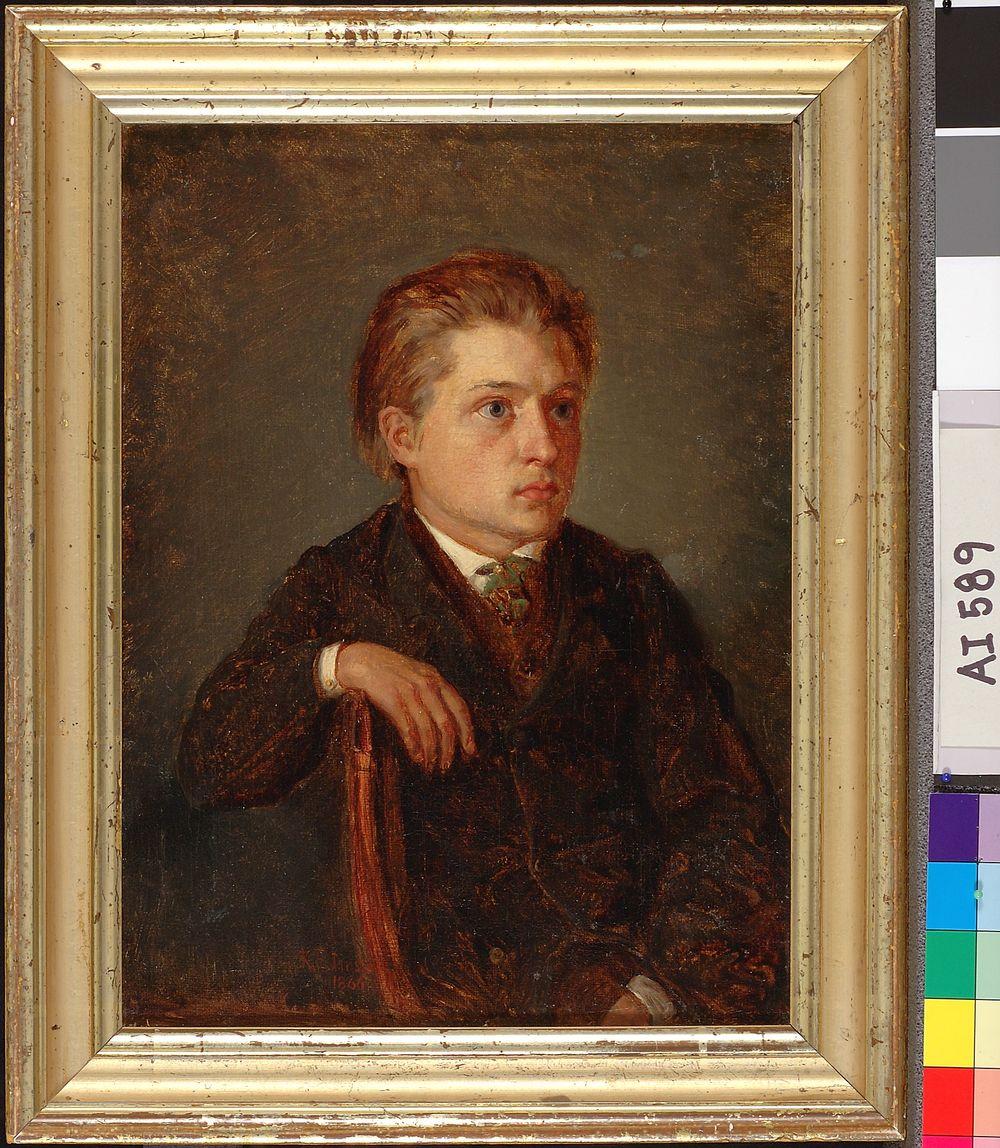Portrait of a Younghood Friend (Hjalmar Montell)