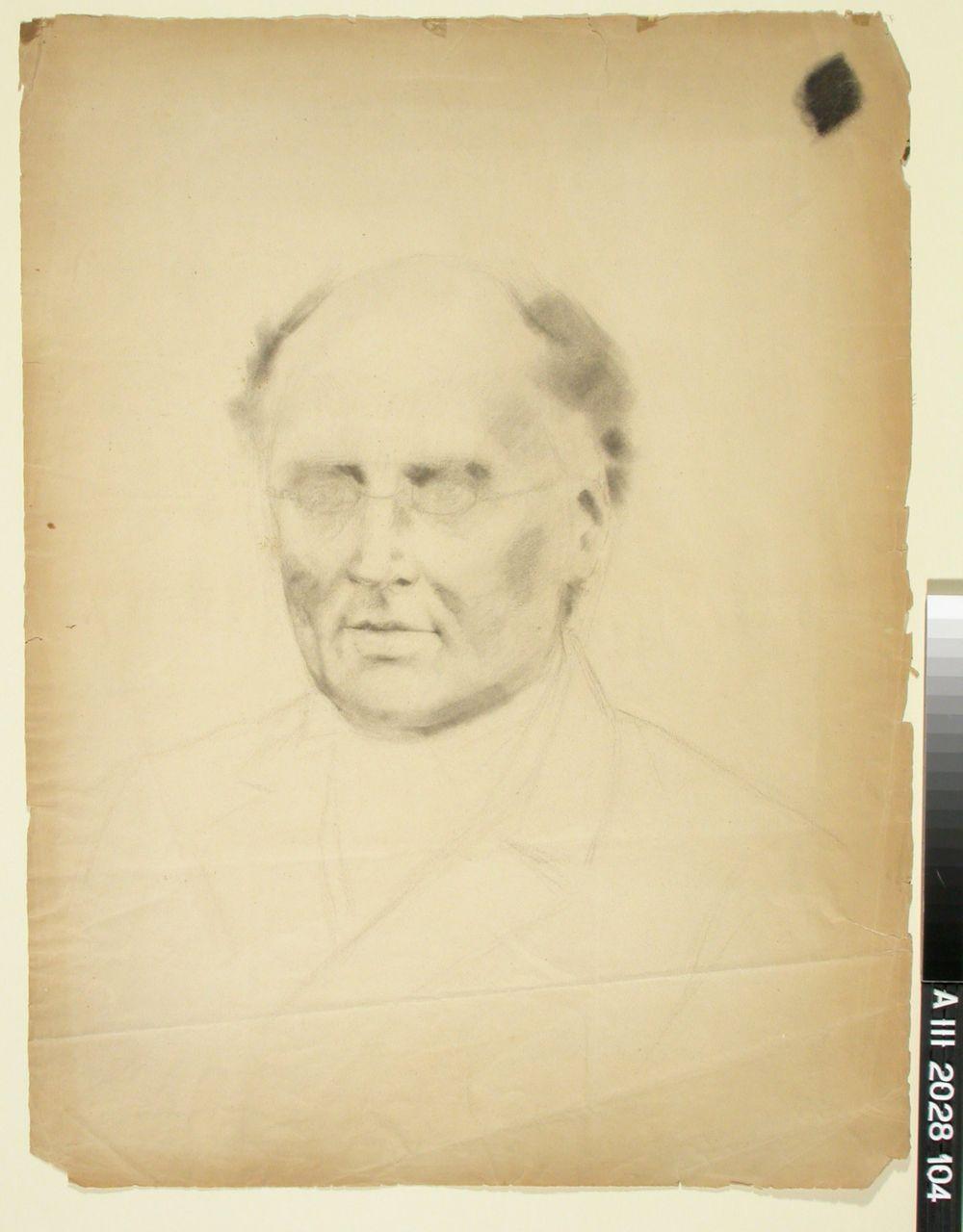 J.L. Runeberg, muotokuvaluonnos