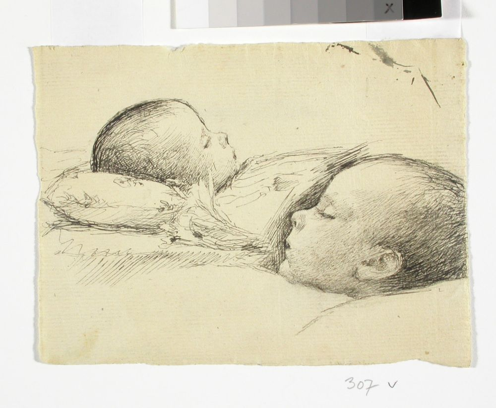 Sleeping Child, two studies