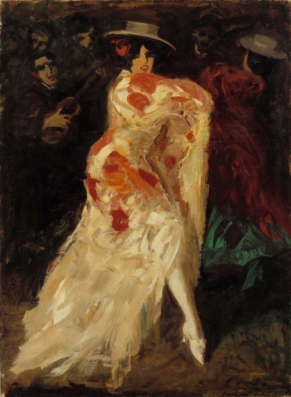 Espanjalainen tanssijatar (Tango)
