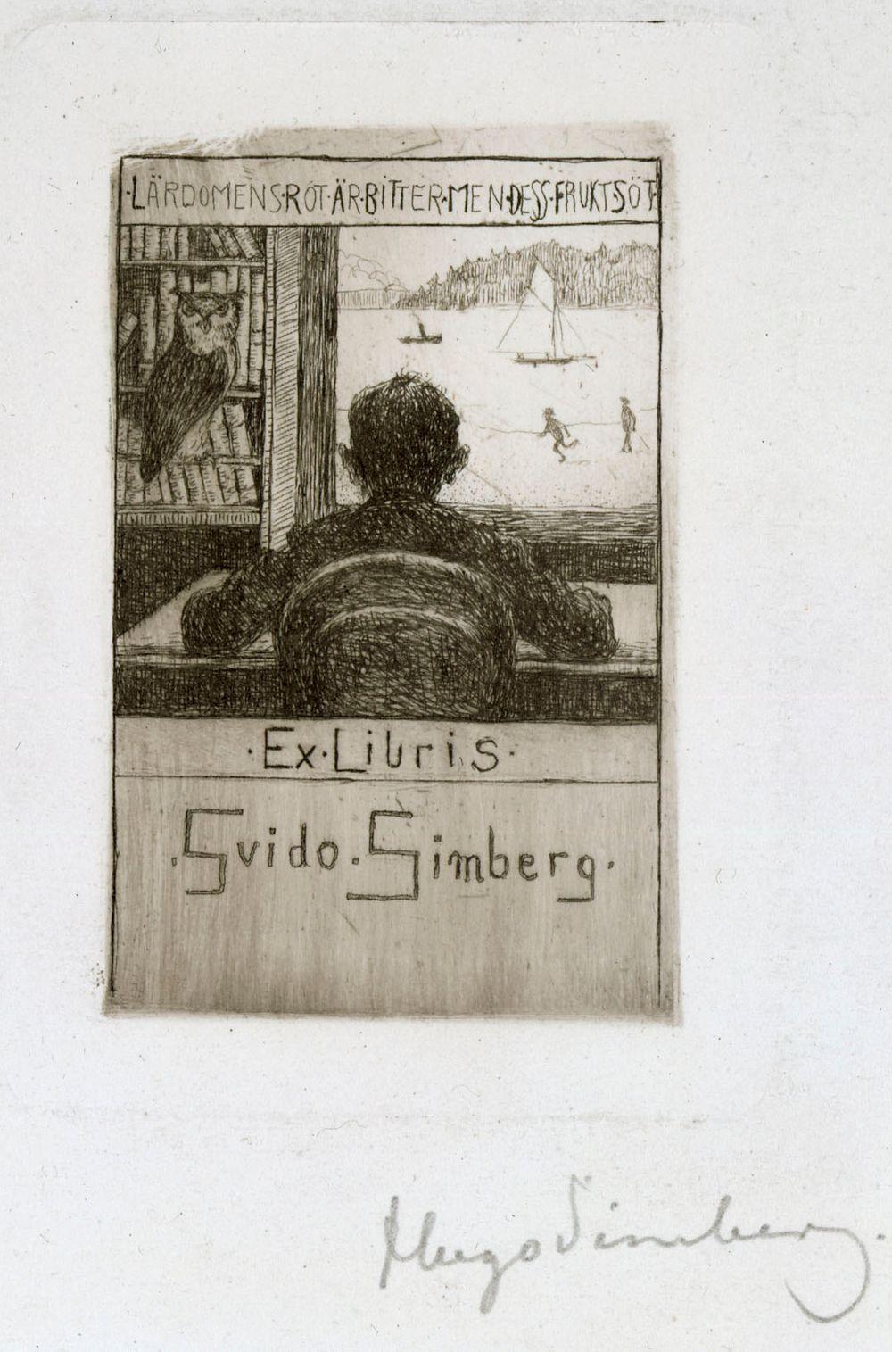 Ex Libris Guido Simberg III