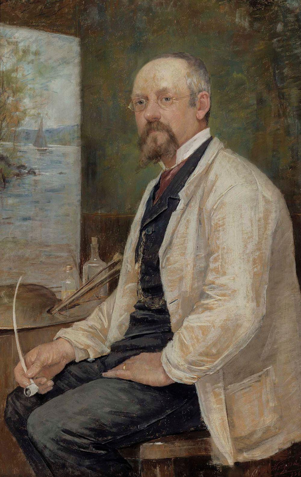 Berndt Lindholmin muotokuva