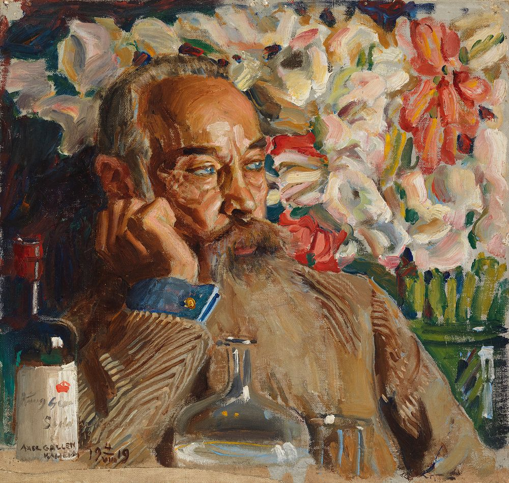 Portrait of Sigurd Wettenhovi-Aspa