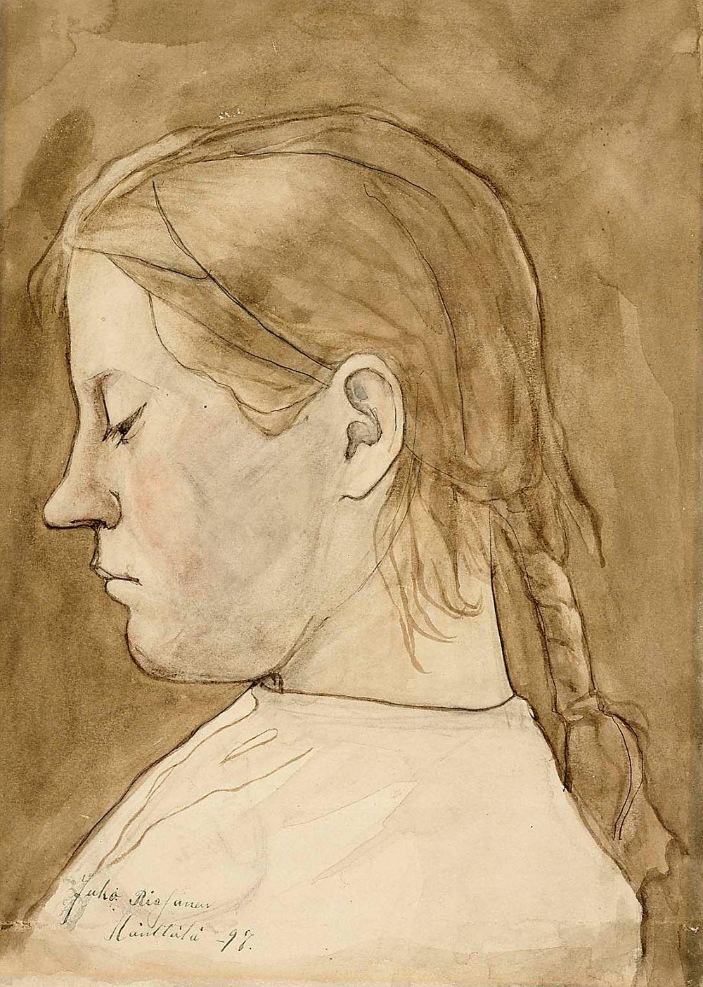 Tyttö (Selma Savolainen)
