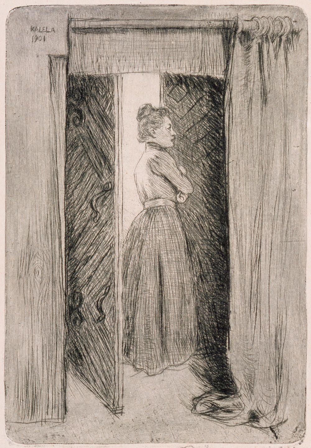 Mary Gallen oviaukossa