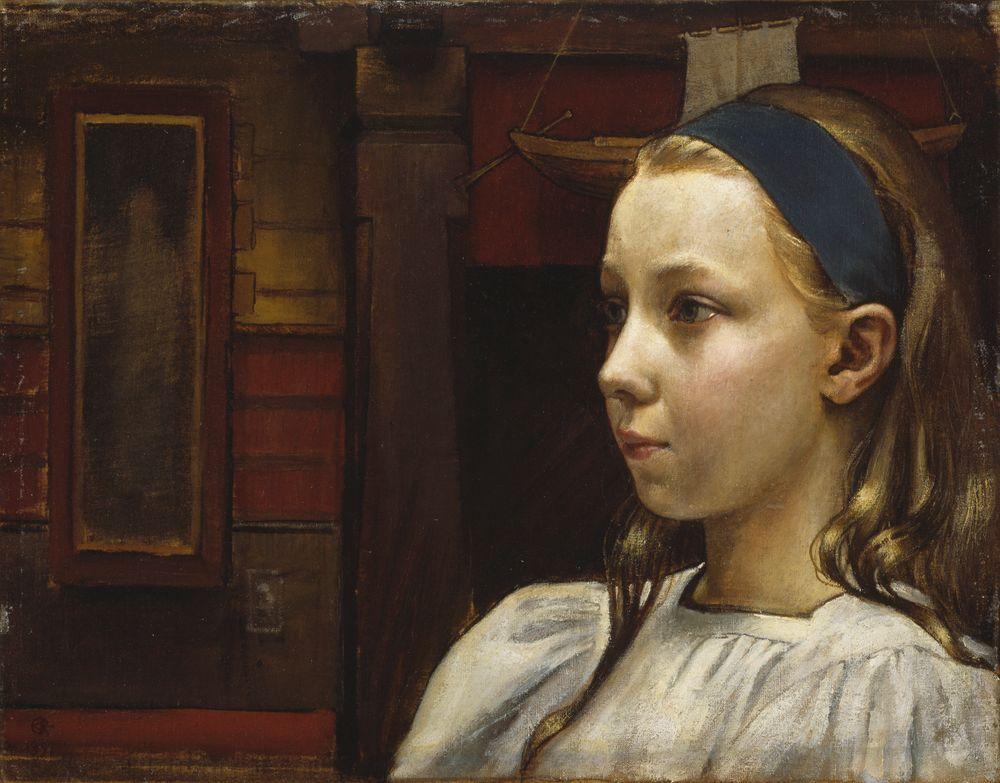 Tytön pää, Pikku Anna