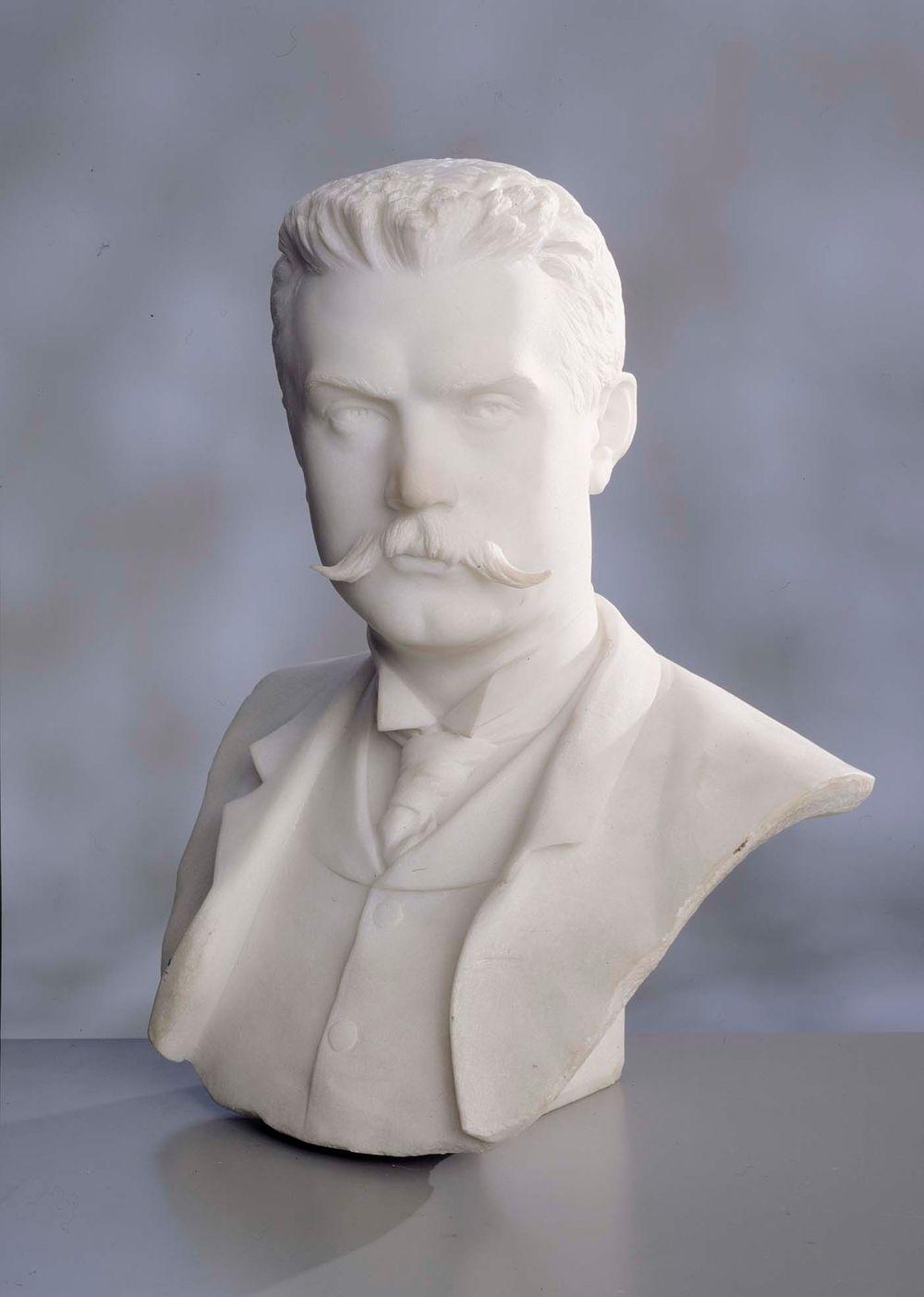 Albert Edelfeltin rintakuva