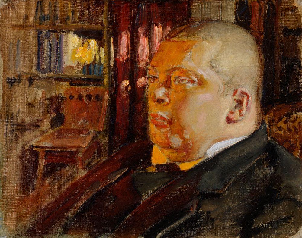Eric O. W. Ehrströmin muotokuva