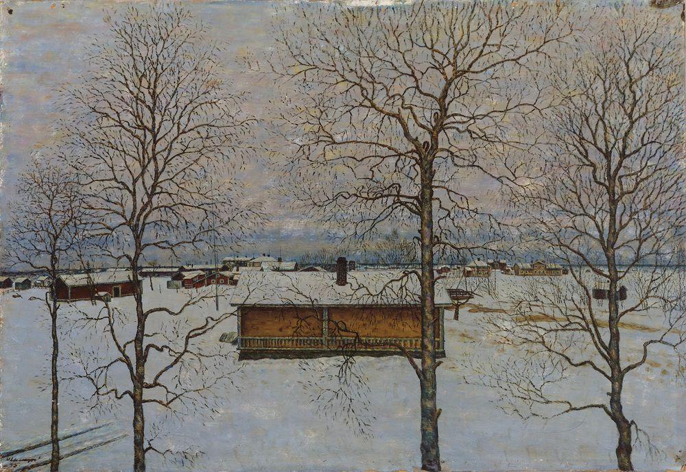 Talvinen näköala