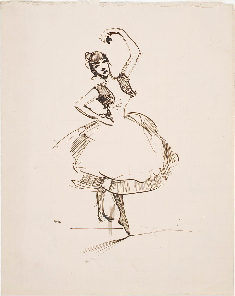 Espanjalainen tanssijatar