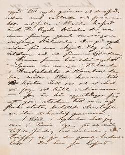 Akseli Gallen-Kallelan kirje Carl Dørnbergerille 21.6.1890