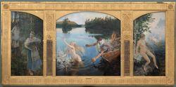 Aino Myth, Triptych