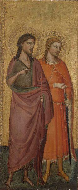 Johannes Kastaja, Pyhä Julianus, Pyhä Zenobius ja Pyhä Mikael
