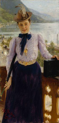 Natalia Nordmannin muotokuva