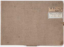 Luonnoskirja, noin 1914 - 1916