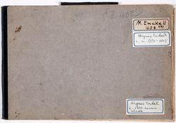 Luonnoskirja, noin 1900 - 1905