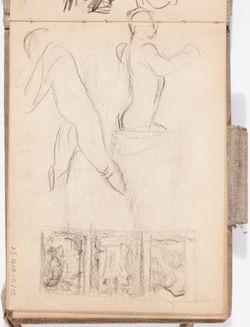 Luonnoskirja, noin 1897 - 1899