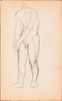 Luonnoskirja, noin 1895