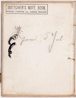 Luonnoskirja, noin 1907 - 1908