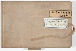 Luonnoskirja, noin 1916 - 1920