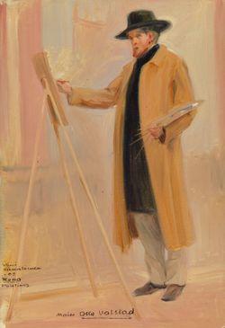 Taidemaalari Otto Valstadin muotokuva