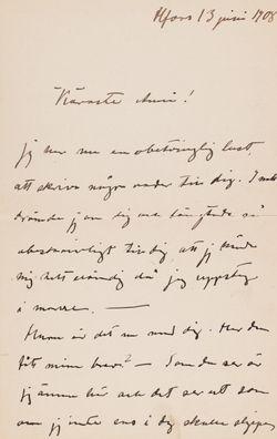Simberg, Anni, 13.6.1908