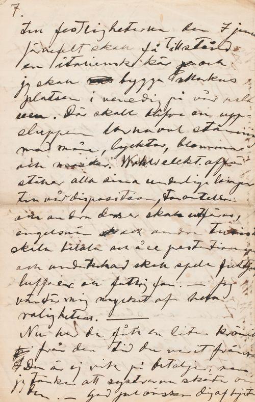 Hugo Simbergin kirje Paul Simbergille 18.12.1899
