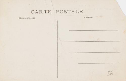 Hugo ja Anni Simbergin kirje Niclas Edaurd Simbergille 1.7.1910