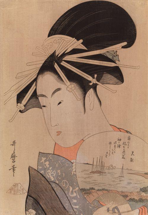 Geisha ja viuhka