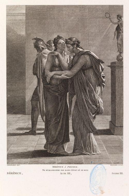 Kohtaus Racinen Bérénicen kolmannen näytöksen kolmannesta kohtauksesta
