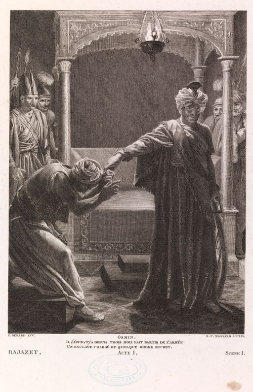 Racinen Bajazet´n ensimmäisen näytöksen ensimmäisestä kohtauksesta