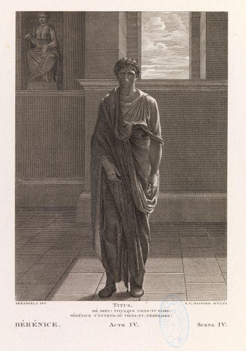 Racinen Bérénicen neljännen näytöksen neljännestä kohtauksesta