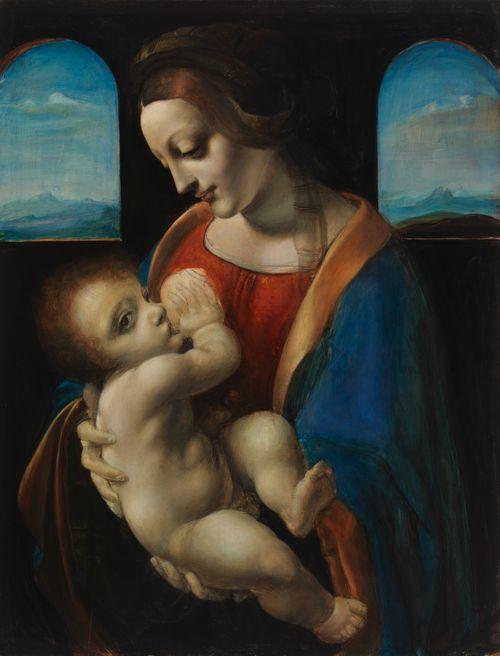 Madonna Litta, kopio Leonardo da Vincin mukaan