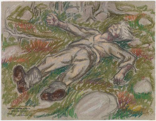 Maastossa nukkuva, Seitsemän veljestä -kuvitus