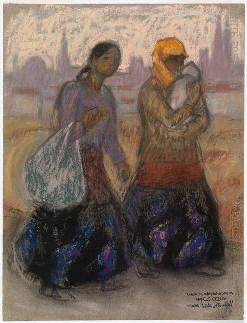 Kaksi naista Pariisissa