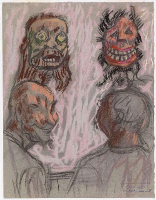 Kaksi naamiota ja kaksi miestä