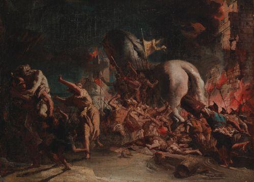 The Greeks Sacking Troy