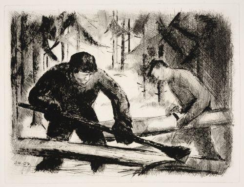 Metsätyömiehet