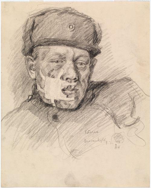 Haavoittunut sotilas (Kärras)