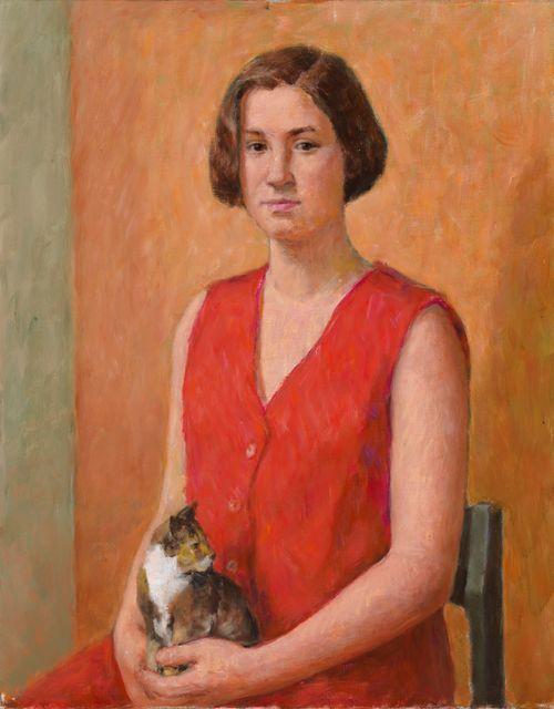 Tyttö ja kissa (runoilija Hanna Ilander)