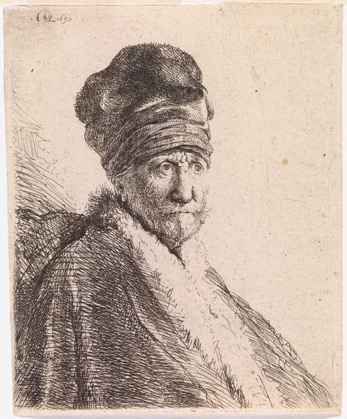 Turbaanipäinen mies (taiteilijan isä)