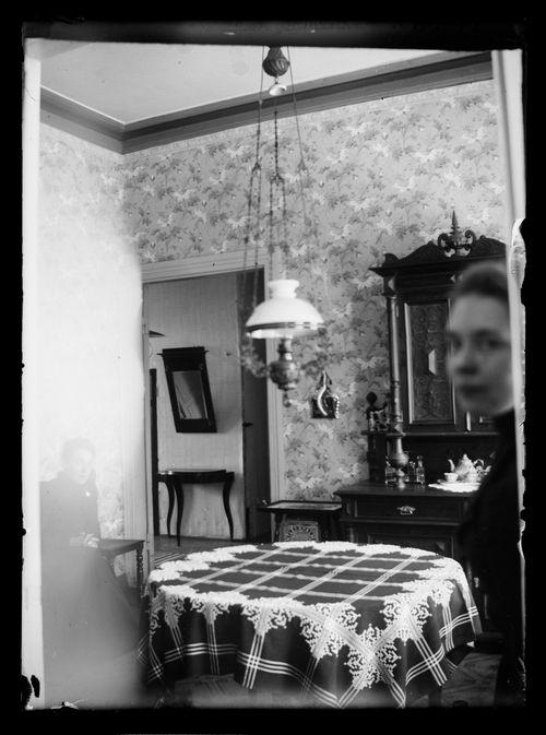 Elli von Schoultz Viipurin kodissaan