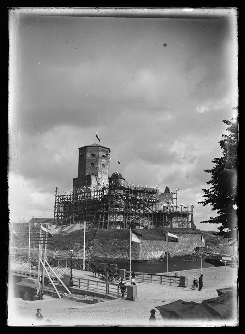 Viipurin linna Venäjän keisari Aleksanteri III:n vierailun aikana