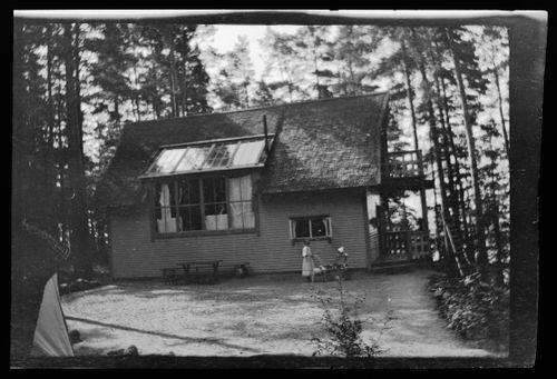 Hugo Simbergin ateljee Niemenlautan Selkärannassa